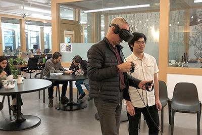 2nd Floor VR Interaction